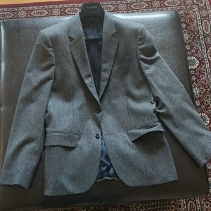 Gray Blazer Slim Fit